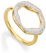 Monica Vinader Riva Diamond Circle Ring