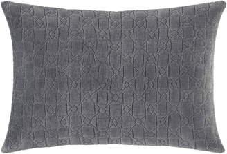 Vera Wang Melange Gauze Quilted Breakfast Pillow