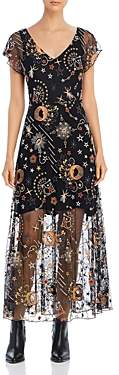 Johnny Was Cosima Embroidered Maxi Dress
