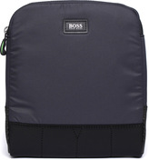 Boss Green Mission Navy Pouch Bag