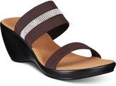 Onex Terri Embellished Platform Wedge Sandals