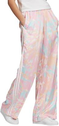adidas Tie Dye Satin Pants
