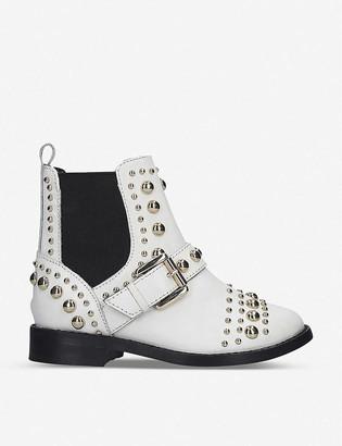 Kurt Geiger Mini Stinger leather Chelsea boots 4-7 years