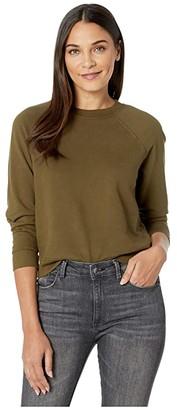 AG Jeans Jadyn Sweatshirt (Light Shiitake) Women's Clothing