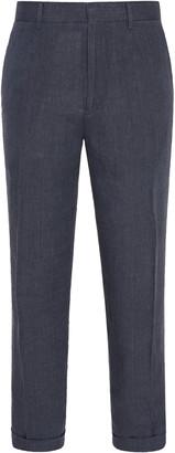 Ermenegildo Zegna Cuffed Linen Trousers