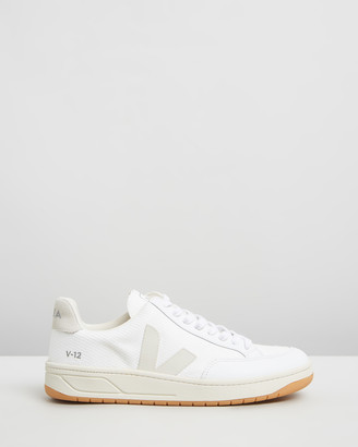 Veja Women's Grey Low-Tops - V-12 - Unisex - Size 38 at The Iconic