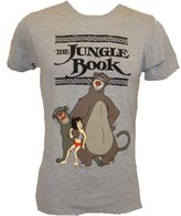 Disney The Jungle Book Best Friends T-shirt (Extra Large,Athletic Heather)