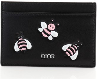 Christian Dior KAWS Card Case Embossed Leather