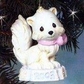 "Precious Moments Bright Eyed & Bushy Tailed"" Porcelain Ornament"