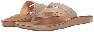OluKai Kaekae Ko'o (Tapa/Golden Sand) Women's Sandals