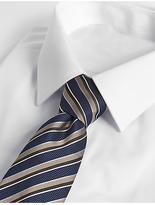 M&S Collection Textured Stripe Tie