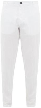 Vilebrequin Panache Linen Straight-leg Trousers - White
