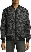 Sovereign Code Men's Camouflage Bomber Jacket - Size x-large