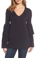 Chelsea28 Women's Tiered Sleeve Sweater