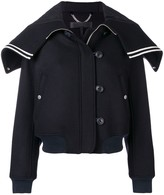 Rag & Bone zip cropped jacket
