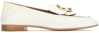 Chloé C Buckle Loafers