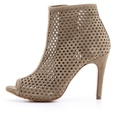 Pedro Garcia Sylvana Perforated Suede Booties