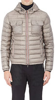 Moncler Men's Down-Quilted Hooded Jacket-GREY