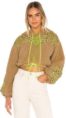 For Love & Lemons Sloane Cropped Hoodie