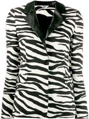 Liu Jo zebra print blazer