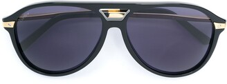 Cartier Aviator Tinted Sunglasses