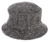 Burberry Chevron Bucket Hat