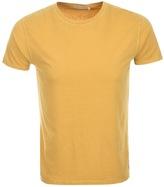 Nudie Jeans Glenn Crew Neck T Shirt Yellow