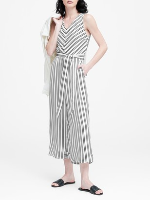 Banana Republic Wide-Leg Cropped Jumpsuit