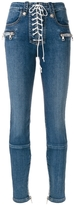 Unravel Lace Front Skinny Jeans