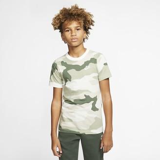 Nike Big Kids' Camo T-Shirt Sportswear