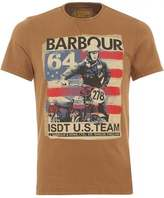 Barbour International Randall Tee Sandstone Steve McQueen T-Shirt