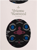 Vivienne Westwood Star and Orb Stockings Black One Size
