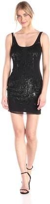 Aidan Mattox Aidan Women's Beaded Tank Dress