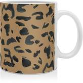 DENY Designs Leeana Benson Cheetah Print Mug