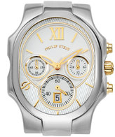 Philip Stein Teslar Stainless Steel Chronograph Large Classic Three-Hand Watch Head