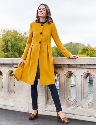 Christie Collarless Coat