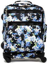 "Le Sport Sac 18"" 4-Wheel Floral Luggage"