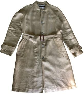 Polo Ralph Lauren Camel Linen Coat for Women