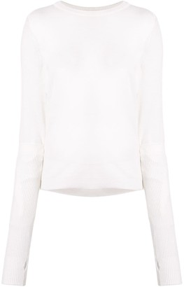 Juun.J Extended-Sleeve Fitted Sweater