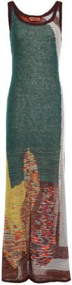 Missoni Intarsia-knit Maxi Dress