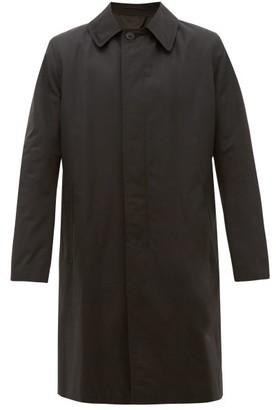 The Row Thomas Cotton-blend Overcoat - Mens - Black