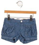 Burberry Girls' Denim Mini Shorts