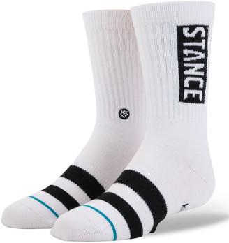 Stance OG Kids White Crew Socks