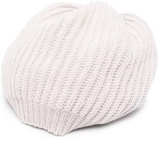 Gentry Portofino Knitted Cashmere-Blend Beanie
