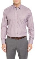 David Donahue Regular Fit Check Sport Shirt