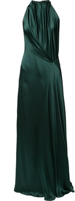 Isabella Collection draped gown