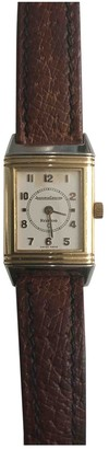 Jaeger-LeCoultre Reverso Gold gold and steel Watches