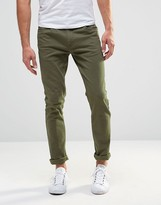Farah Drake Super Slim Fit Trousers