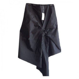 Cos Black Silk Skirt for Women