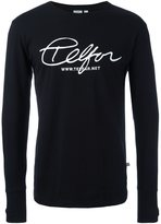Telfar front print sweatshirt - men - Cotton - S